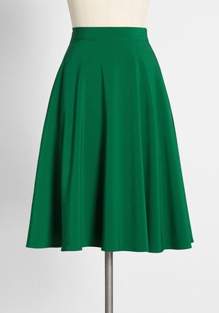 Just This Sway A-Line Skirt   Modcloth