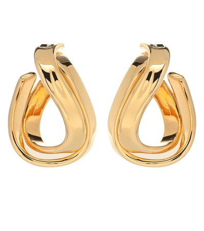 Twisted Hoop Earrings - Balenciaga | Mytheresa