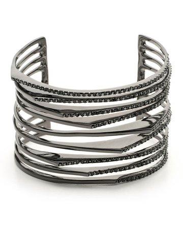 Alexis Bittar Lace Orbiting Cuff Bracelet
