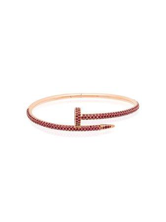 MAD Paris customised 18kt rose gold Cartier Juste Un Clou bracelet