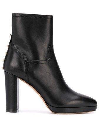 Valentino Garavani Rockstud-embellished Ankle Boots - Farfetch