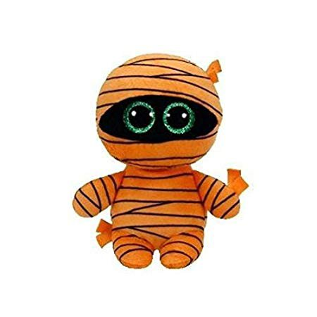 Amazon.com: Ty Beanie Babies Boos 37241 Mask The Orange Mummy Halloween Boo: Toys & Games