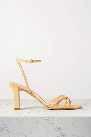 Aeydē aeyde - Annabella Leather Sandals - Yellow