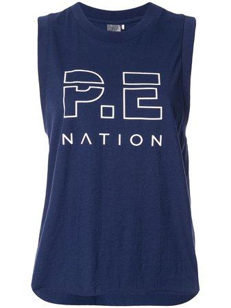 P.e Nation The Base Load Tank Top Ss20 | Farfetch.com