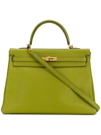 Hermès 2002 pre-owned Kelly Bag - Farfetch