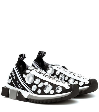 Sorrento embellished sneakers