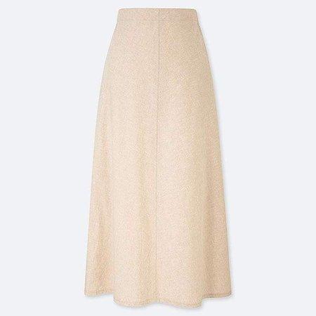 Women's Linen Cotton Long Skirt