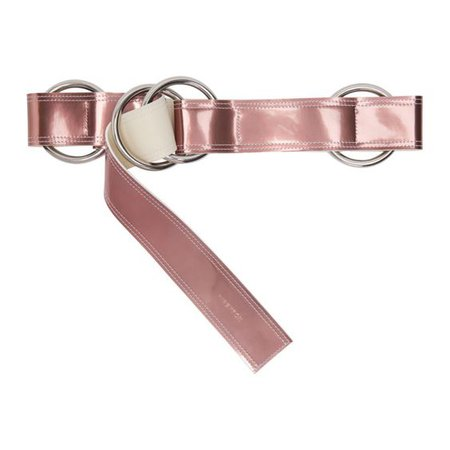 Ribeyron - Pink Metallic Oversized Loop Belt