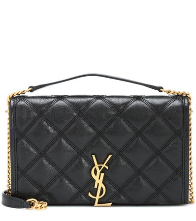 Quilted Leather Shoulder Bag - Saint Laurent | Mytheresa