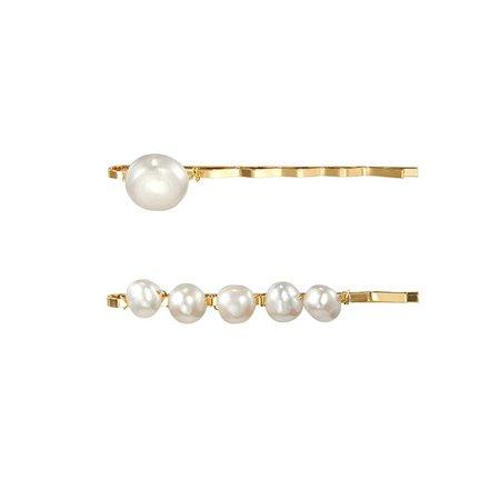 JESSICABUURMAN – FUTIN Pearl Hair Clip - Pair