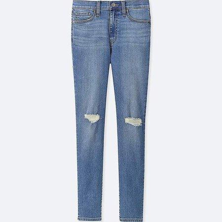 Women's High-rise Cigarette Jeans