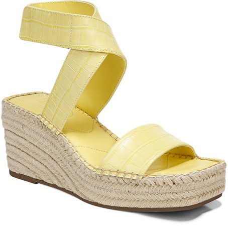 Carezza Espadrille Wedge Sandal