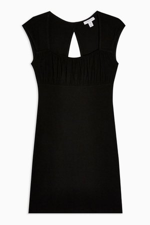 Black Plain 90s Bodycon Dress | Topshop