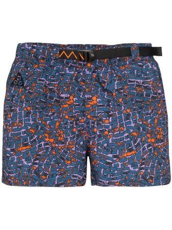 Nike Printed Running Shorts | Farfetch.com