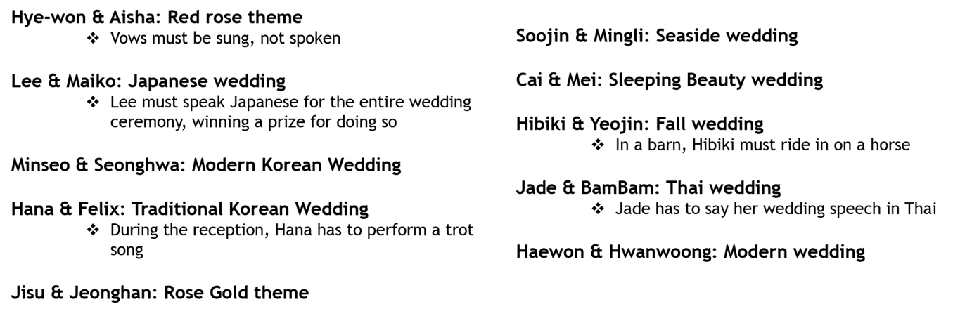 We Got Married S1 Episode 2 I Do Missions