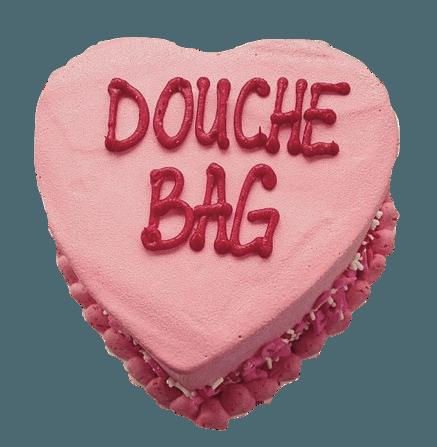 douche bag cake