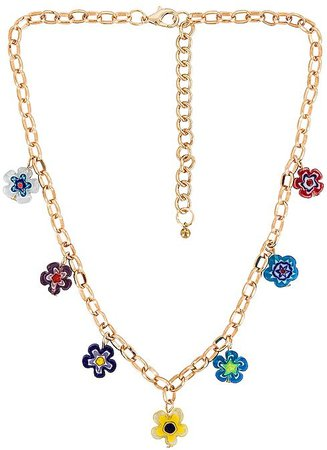 petit moments Daisy Chain Necklace