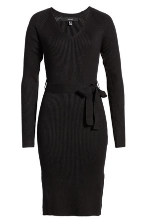 VERO MODA Barbara Rib Knit Dress | Nordstrom