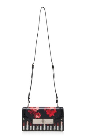 Séverine Printed Leather Crossbody Bag by Prada | Moda Operandi