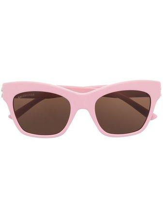 Balenciaga Eyewear Dynasty rectangular-frame Sunglasses - Farfetch
