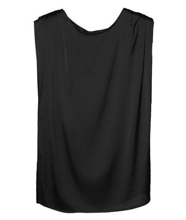CKontova Black Top with Pleats < CKontova List | aesthet.com