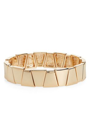 Halogen® Metal Triangle Stretch Bracelet | Nordstrom