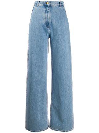 Gcds high-waisted Wide Leg Jeans - Farfetch