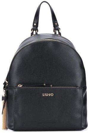 Tassel-Detail Backpack
