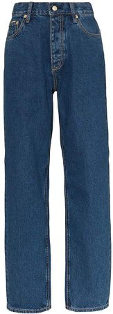 Benz high-waisted jeans