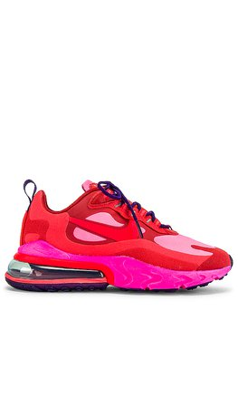 Nike Air Max 270 Sneaker in Mystic Red, Burnt Crimson, Pink Blast, Habanero & Red Court   REVOLVE