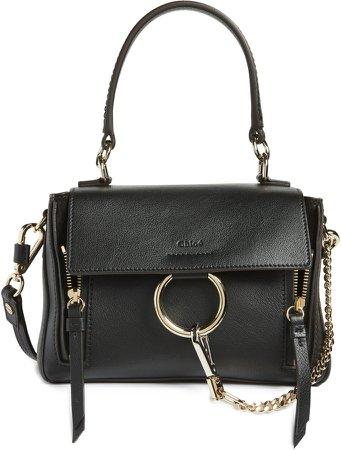 Mini Faye Day Leather Crossbody Bag