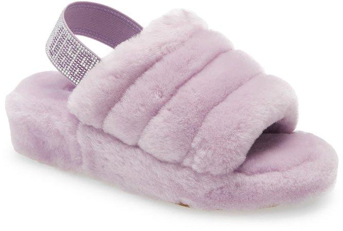 Fluff Yeah Genuine Shearling Slide Sandal