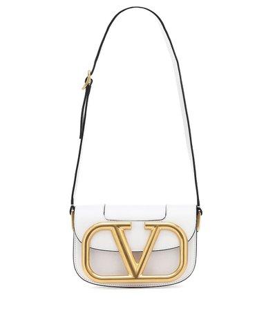 Valentino Garavani Supervee Leather Shoulder Bag | Valentino - Mytheresa