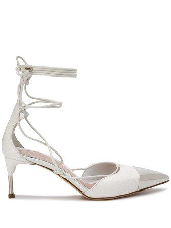 Alexander McQueen metal toe cap pumps £455 - Shop Online - Fast Global Shipping, Price