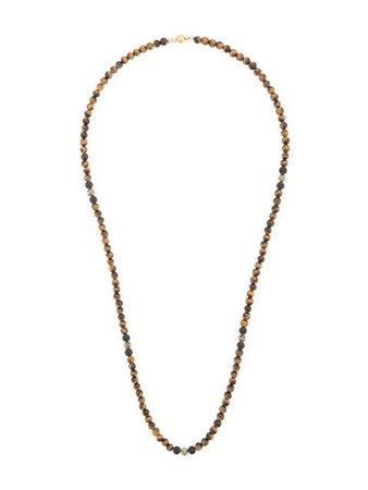 Nialaya Jewelry tiger eye beaded necklace