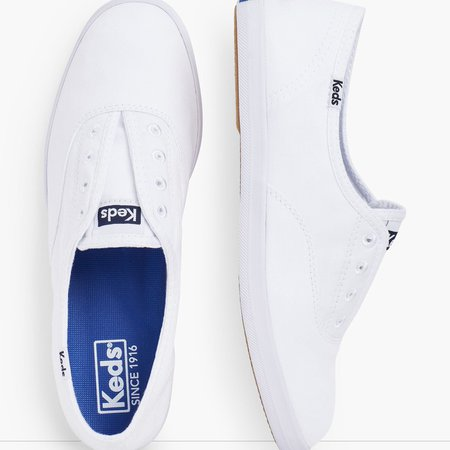 Keds Canvas Slip On Sneakers