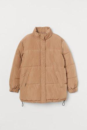 Oversized Jacket - Beige - Ladies | H&M US