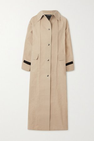 Original Coated-cotton Trench Coat - Beige
