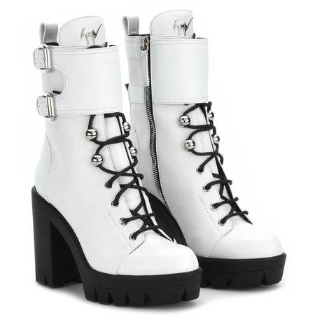 CAMILA - Boots - WHITE | Giuseppe Zanotti - UK