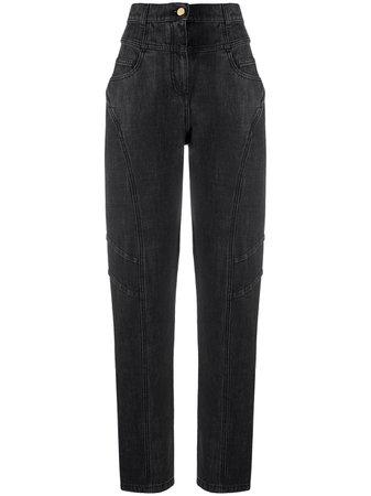 Alberta Ferretti Jeans Rectos Con Tiro Alto - Farfetch