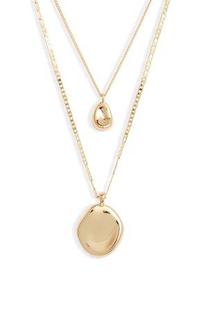 Jenny Bird Mithras Varuna Double Strand Necklace | Nordstrom