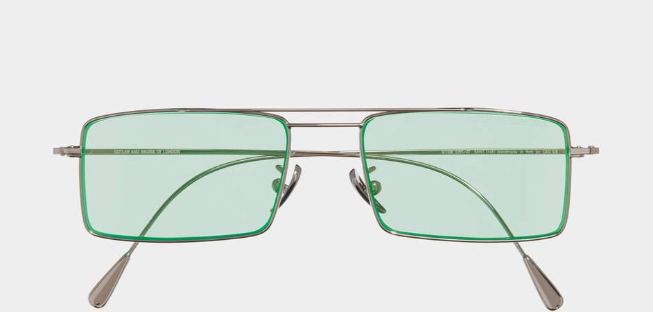 1308PPL-07 Palladium and Mint Green - Shop - Cutler and Gross