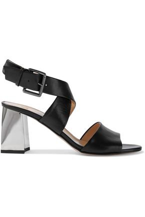 Vienna leather sandals | IRIS & INK | Sale up to 70% off | THE OUTNET