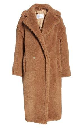 Max Mara Teddy Bear Icon Faux Fur Coat   Nordstrom