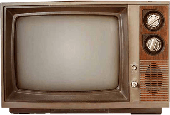 old tv retro