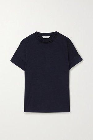 Merino Wool T-shirt - Navy