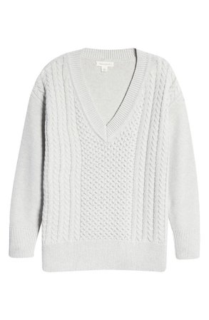Treasure & Bond Cable Knit Sweater   Nordstrom