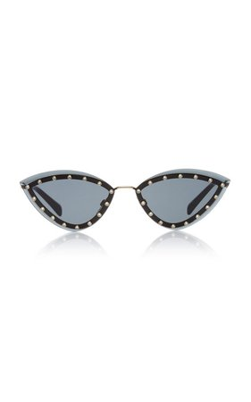 Glamtech Cat-Eye Sunglasses by Valentino | Moda Operandi