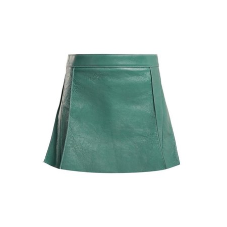 """AnOther Loves on Instagram: """"Leather for spring ✔️ by @chloe via @matchesfashion #anotherloves #love #leather #skirt #teal"""""""