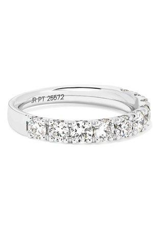 Amrapali | Platinum diamond ring | NET-A-PORTER.COM